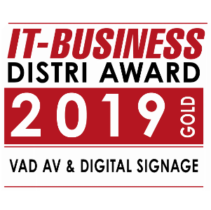 IT-Business Distri Award 2019 Gold