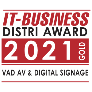 IT-Business Distri Award 2021 Gold