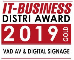 IT-Business Distri Award Komponenten Gold 2019